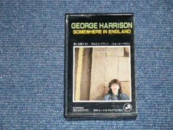 Photo1: GEORGE HARRISON  of THE BEATLES -SOMEWHERE IN THE ENGLAND (Ex+/MINT)  / 1981 JAPAN ORIGINAL Used MUSIC CASSETTE TAPE