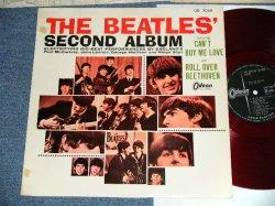"Photo1:  THE BEATLES  - SECOND ALBUM  ( ¥1500  Price Mark) (Ex+/Ex+++ EDSP)   / 1964 JAPAN ORIGINAL ""RED WAX Vinyl"" MONO Used LP"