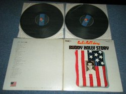 Photo1: BUDDY HOLLY - BUDDY HOLLY STORY (Ex+/Ex+++ EDSP) /  1970's JAPAN Used 2-LP
