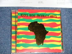 Photo1: BOB MARLEY ボブ・マーリー - 100% BOB MARLEY HITS  (MINT-/MINT)  / 1995 JAPAN ORIGINAL  Used CD
