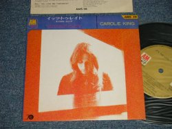 "Photo1: CAROLE KING キャロル・キング - IT'S TOO LATEイッツ・トゥ・レイト (Ex+++/MINT-)  / 1971 JAPAN ORIGINAL Used 7"" 33 rpm EP"