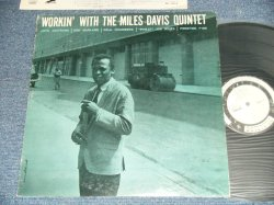 "Photo1: MILES DAVIS マイルス・デイビス- WORKIN' WITH THE MILES DAVIS QUINTET  ( Ex/MINT-) / 1975 Japan REISSUE ""WHITE LABEL PROMO"" Used LP"