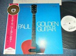 Photo1: LES PAUL レス・ポール - GOLDEN GUITAR ゴールデン・ギター (Ex++/MINT- EDSP) / Japan 1968 White Label PROMO NM LP+Obi