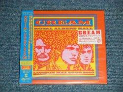 "Photo1: CREAM クリーム -  REUNION LIVE 05 (SEALED) / 2005 JAPAN ORIGINAL ""BRAND NEW SEALED"" 2 CD with OBI"