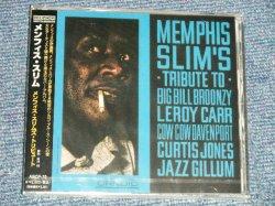 "Photo1: MEMPHIS SLIM メンフィス・スリム - MEMPHIS SLIM'S TRIBUTE To Big Bill Broonzy, Leroy Carr, Cow Cow Davenport, Curtis Jones, Jazz Gillum メンフィス・スリムズ・トリビュート  (SEALED) / 2002 JAPAN  ORIGINAL ""BRAND NEW SEALED"" CD"