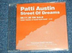 Photo1: PATTI AUSTIN パティ・オースティン - STREET OF DREAMS  / RAIN RAIN RAIN (MINT-/MINT)  / 1997 Japan ORIGINAL Promo Only Used Maxi CD