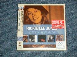 "Photo1: RICKIE LEE JONES リッキー・リー・ジョーンズ - ORIGINAL ALBUM SERIES ファイヴ・オリジナル・アルバムズ(完全生産限定盤) Limited Edition (SEALED) / 2010 JAPAN ORIGINAL ""BRAND NEW SEALED"" 5-CD's"