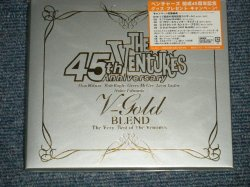 "Photo1: THE VENTURES ベンチャーズ -  V-GOLD BLEND - The Very Best of   (SEALED) / 2004 JAPAN ORIGINAL ""BRAND NEW SEALED"" CD with OBI"