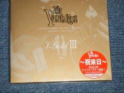 "Photo1: THE VENTURES ベンチャーズ -  V-GOLD III(SEALED) / 2001 JAPAN ORIGINAL ""BRAND NEW SEALED"" CD with OBI"