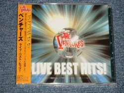 """Photo1: THE VENTURES ベンチャーズ - LIVE BEST HITS! (SEALED) / 2005  JAPAN ORIGINAL """"BRAND NEW SEALED"""" CD with OBI"""