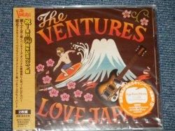 "Photo1: THE VENTURES ベンチャーズ - LOVE JAPAN (SEALED) / 2012  JAPAN ORIGINAL ""BRAND NEW SEALED"" CD with OBI"