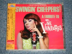 "Photo1: V.A. VARIOUS OMNIBUS - SWINGIN' CREEPERS! A TRIBUTE TO THE VENTURES  スウィンギン・クリーパーズ ベンチャーズ・トリビュート  (SEALED) / 1999  JAPAN ORIGINAL ""BRAND NEW SEALED"" CD with OBI"