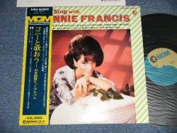 Photo1: CONNIE FRANCIS  コニー・フランシス- LET'S SING WITH CONNIE FRANCIS  コニー・フランシスと歌おう :日本語盤ヒット・アルバム (MINT-/MINT-)  /  1973 JAPAN ORIGINAL  Used LP with OBI