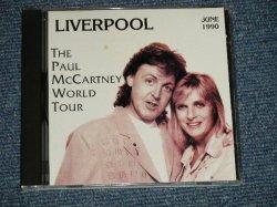 Photo1: PAUL McCARTNEY( of THE BEATLES ) - LIVERPOOL : THE PAUL McCARTNEY WORLD TOUR (Ex+++/MINT) / 1990 AUSTRALIA ORIGINAL? COLLECTOR'S (BOOT) Used Press CD