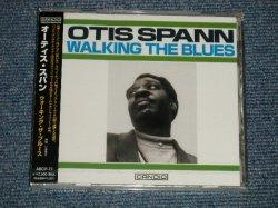 "Photo1: OTIS SPANN オーティス・スパン - WALKING THE BLUES ウォーキン・ブルース  (SEALED) / 2002 JAPAN ""BRAND NEW SEALED"" CD"