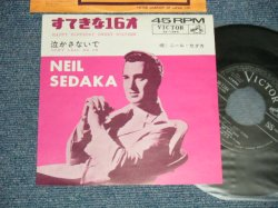 "Photo1: NEIL SEDAKA ニール・セダカ  - A) HAPPY BIRTHDAY, SWEET SIXTEEN すてきな16才  B) DON'T LEAD ME ON 泣かさないで (MINT-/Ex++ NO CENTER)  / 1961 JAPAN ORIGINAL Used 7""45 Single"