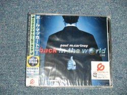 "Photo1: PAUL McCARTNEYポール・マッカートニー The BEATLES - BACK IN THE WORLD LIVE (SEALED) / 2003 JAPAN ORIGINAL ""BRAND NEW SEALED"" CD With OBI"
