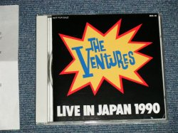 "Photo1: THE VENTURES ベンチャーズ - LIVE IN JAPAN 1991 (Ex++/MINT)/ 1991 JAPAN ORIGINAL ""PROMO ONLY"" Used  3 TRACKS Maxi CD"