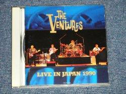 Photo1: THE VENTURES ベンチャーズ - LIVE IN JAPAN 1990 (MINT/MINT)/ 1990 JAPAN ORIGINAL Used  CD