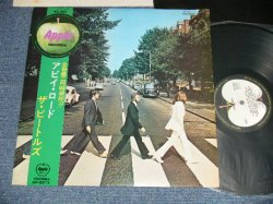 Photo1:  THE BEATLES ビートルズ -  ABBEY ROAD アビイ・ロード ( ¥2000 Mark) (Ex++/MINT-  EDSP)   / 1969 JAPAN ORIGINAL Used LP with OBI  with BACK ORDER SHEET on BACK SIDE