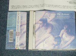 Photo1: Nuno Guerreiro ヌーノ・ゲレイロ - Carta De Amor-恋 (MINT-/MINT)  /  1998 JAPAN ORIGINAL  Used CD With OBI