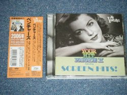 Photo1: THE VENTURES ベンチャーズ - YOUR HIT PARADE II featuring SCREEN HITS!  ユア・ヒット・パレード II  ~フィーチャリング・スクリーン・ヒッツ (MINT-/MINT) / 2003 JAPAN ORIGINAL  Used CD with OBI