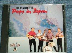 "Photo1: THE VENTURES ベンチャーズ - THE VENTURES' II / POPS IN JAPAN  ポップス・イン・ジャパン (MINT-/MINT) / 1994 JAPAN ORIGINAL ""CD CLUB Release"" Used CD"