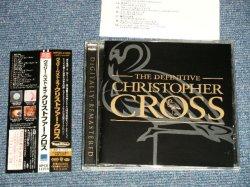"Photo1: CHRISTOPHER CROSS クリストファー・クロス - THE DEFINITIVE CHRISTOPHER CROSS ヴェリー・ベスト・オブ (MINT/MINT) /  1987 JAPAN ORIGINAL ""PROMO"" Used CD with OBI"