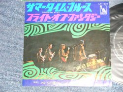 "Photo1: THE VENTURES ベンチャーズ  - A) SUMMERTIME BLUES サマータイム・ブルース  B) FLIGHT OF FANTASY フライト・オブ・ファンタジー (Ex++/Ex+, Ex++) / 1968 JAPAN ORIGINAL ""400 Yen Mark""  Used 7"" Single"