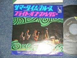 "Photo1: THE VENTURES ベンチャーズ  - A) SUMMERTIME BLUES サマータイム・ブルース  B) FLIGHT OF FANTASY フライト・オブ・ファンタジー (Ex+++/Ex++ Looks:Ex++) / 1968 JAPAN ORIGINAL ""400 Yen Mark""  Used 7"" Single"