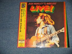 "Photo1: BOB MARLEY & THE WAILERS ボブ・マーリィ - LIVE!  (MINT/MINT) / 2007 JAPAN REISSUE Limited ""200 Gram Weight"" Used LP with OBI"