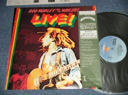 Photo1: BOB MARLEY & THE WAILERS ボブ・マーリィ - LIVE! (MINT-/MINT) / 1980 Version JAPAN REISSUE Used LP with OBI+Liner