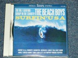 Photo1: THE BEACH BOYS - SURFIN' USA (Original Album Straight Reissue) (MINT-/MINT)  / 1995 JAPAN  Used CD