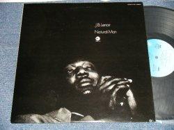 Photo1: J. B. LENOIR J. B. ルノアー - NATURAL MAN ナチュラル・マン(Ex+++/MINT) / 1975 JAPAN ORIGINAL Used LP