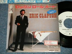 """Photo1: エリック・クラプトン ERIC CLAPTON - A) I'VE GOT A ROCK 'N' ROLL HEART ロックン・ロール・ハート  B) MAN IN LOVE (Ex++/Ex+++  STOFC) / 1983 JAPAN ORIGINAL """"WHITE LABEL PROMO""""  Used 7"""" Single"""