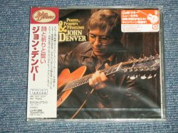 "Photo1: JOHN DENVER ジョン・デンバー - POEMS, PRAYERS & PROMISES + BONUS 詩と祈りと誓い (SEALED) / 2004 JAPAN ORIGINAL ""BRAND NEW SEALED""  CD With oBI"