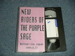 Photo1: NEW RIDERS OF THE PURPLE SAGE - BOTTOM LINE, JAPAN 1994.8.27 (MINT-/MINT)  / BOOT COLLECTORS  Used VIDEO   [VHS]