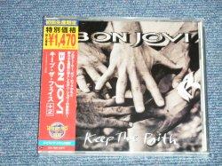 "Photo1: BON JOVI ボン・ジョヴィ -  KEEP THE FAITH +2  キープ・ザ・フェイス +2 (SEALED) / 2004 JAPAN ""BRAND NEW SEALED""  CD With oBI"
