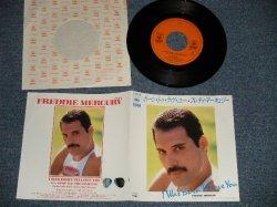 "Photo1: FREDDIE MERCURY フレディ・マーキュリー  - A) I WAS BONE TO LOVE YOU ボーン・トゥー・ラヴ・ユー   B) STOP ALL THE FIGHTING   (MINT-/MINT) / 1985 JAPAN ORIGINAL Used 7"" Single"