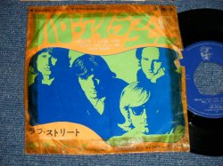 "Photo1: The DOORS ドアーズ - A) HELLO, I LOVE YOU ハロー・アイ・ラブ・ユー  B) LOVE STREET ラブ・ストリート (G/Ex+ No Center)  / 1968 JAPAN ORIGINAL Used 7""45 rpm Single With PICTURE COVER"