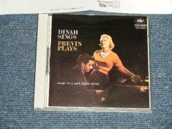 Photo1: DINAH SHORE ダイナ・ショア - DINA SINGS, PREVIN PLAYS ダイナ・シングス・プレヴィン・プレイズ (Ex+++/MINT) / 1988 JAPAN  ORIGINAL Used  CD