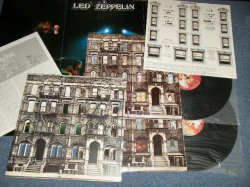 "Photo1: LED ZEPPELIN レッド・ツェッペリン - PHYSICAL GRAFFITI  ""With POSTER"" (Ex++/MINT) / 1975 JAPAN ORIGINAL Used 2-LP"