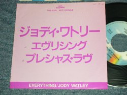 "Photo1: JODY WATLEY ジョディー・ワトリー - A) EVERYTHING エヴリシング  B) PRECIOUS LOVE プレシャス・ラヴ (Ex++/MINT-, Ex++) /1988 JAPAN ORIGINAL ""PROMO ONLY"" Used 7""45 Single"