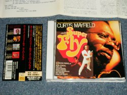 Photo1: CURTIS MAYFIELD カーティス・メイフィールド - SUPER FLY スーパー フライ (Ex++/MINT) / 1991 JAPAN Used CD with OBI