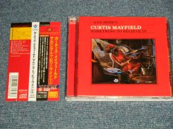 Photo1: CURTIS MAYFIELD カーティス・メイフィールド - SOMETHING TO BELIEVE IN サムシング・トゥ・ビリーヴ・イン+1 (MIINT-/MINT) / 1998 JAPAN Used CD with OBI