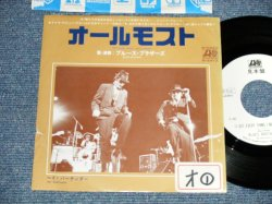 "Photo1: BLUES BROTHERS ブルース・ブラザーズ - A) ALMOST  B) HEY BARTENDER (VG+++/MINT- STOFC, TEAR) / 1979 JAPAN ORIGINAL ""WHITE LABEL PROMO""  Used  7""45 With PICTURE COVER"