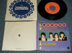 "Photo1: RASPBERRIES ラズベリーズ - A) 君に首ったけ ECSTACY  B) MONEY DOWN ( Ex++/MINT-, Ex++) / 1973 JAPAN ORIGINAL Used 7"" Single"