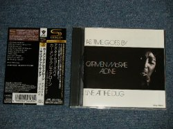 Photo1: CARMEN McRAE カーメン・マクレエ  - AS TIME GOES BY アズ・タイム・ゴーズ・バイ (MINT-/MINT) / 2009 JAPAN ORIGINAL Used CD with OBI