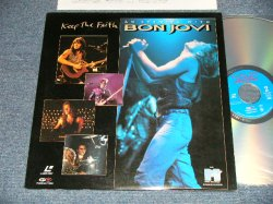 Photo1: BON JOVI ボン・ジョヴィ - KEEP THE FAITH (Ex+++/MINT) / 1993 JAPAN  'NTSC' SYSTEM used LaserDisc