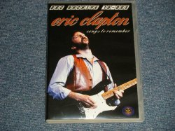 Photo1: ERIC CLAPTON エリック・クラプトン - SONGS TO REMMBER (MINT-/MINT) / BOOT COLLECTORS  Used DVD-R